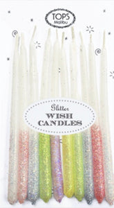 Glitter Wish Candles