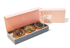 India Teas Classic Blush Set of 3 Tins