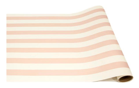Pink Classic Stripe Table Runner
