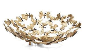 Aram Butterfly Ginkgo Centerpiece Bowl