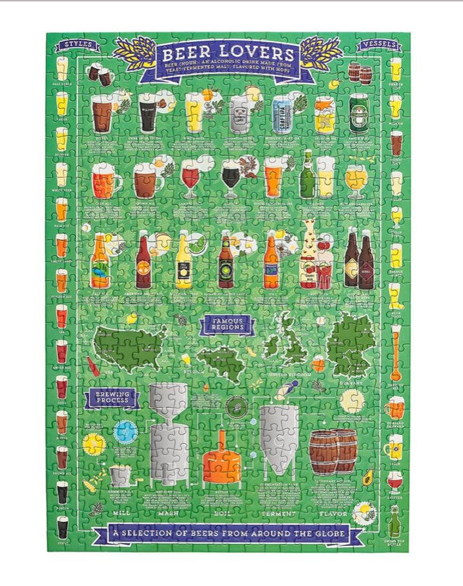 Beer Lover's Jigsaw Puzzle