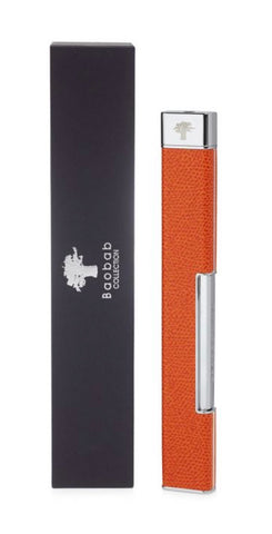 Leather Lighter - Orange