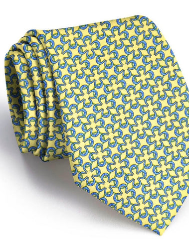 Horseshoe Rings Yellow Tie