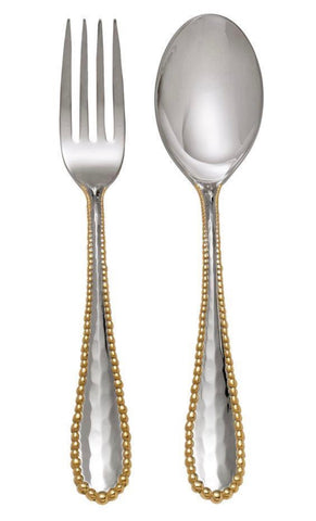 Aram Molten Gold Serving Set