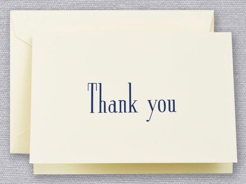 Navy Thank You Notes