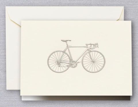 Engraved Racing Bike Notes