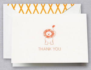 Clementine Lion Thank You Notes