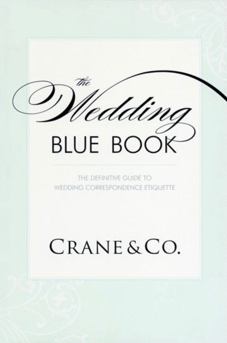 The Wedding Blue Book