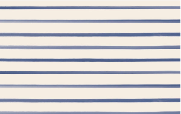 Navy Stripe Paper Placemats