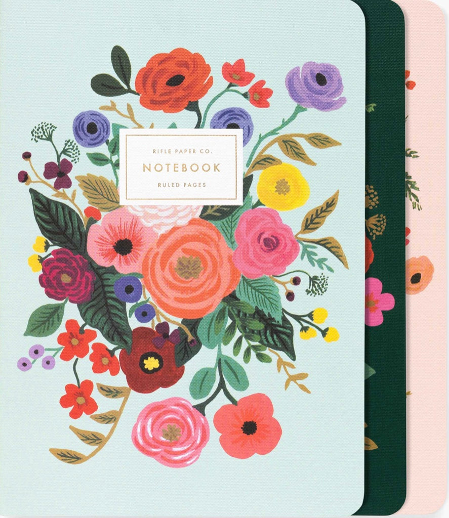 Garden Party Stitched Notebook