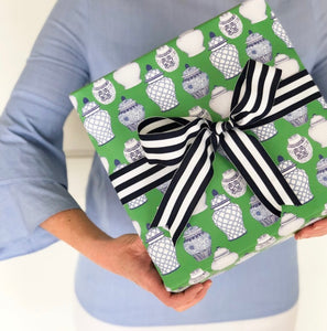 Ginger Jar Pattern Gift Wrap Sheets