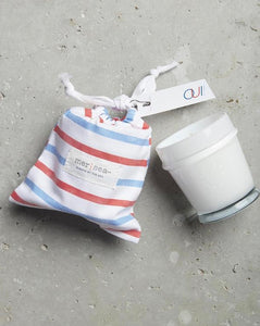 Oui! Striped Sandbag Candle