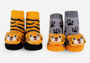Tiger Rattle Socks