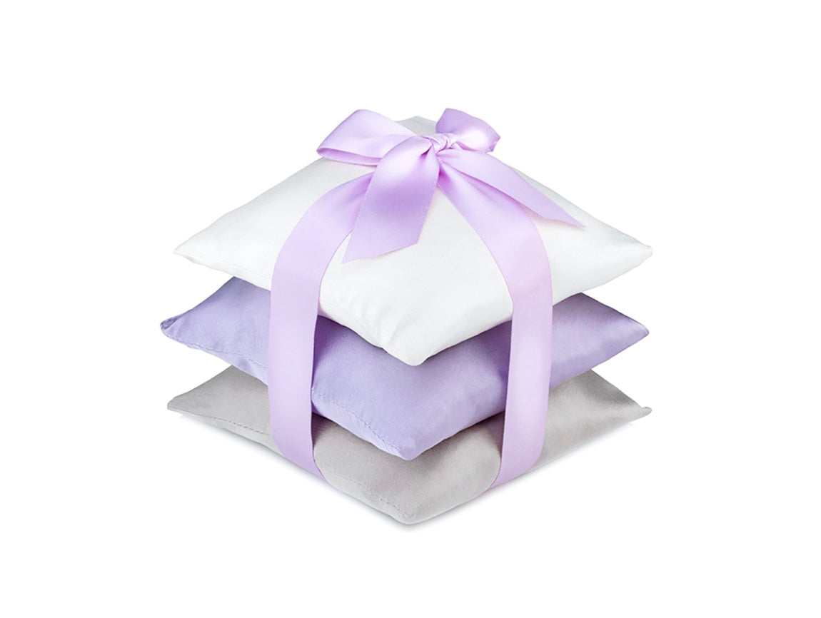 Purple Silk Sachet Set