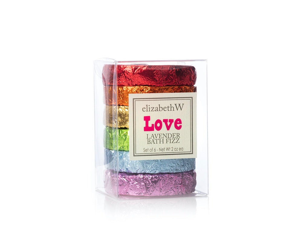 Love Lavender Bath Fizz Tablets