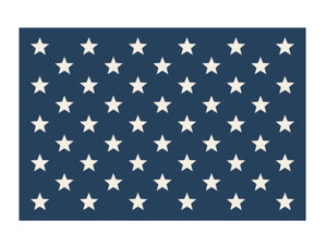 Stars on Navy Placemat
