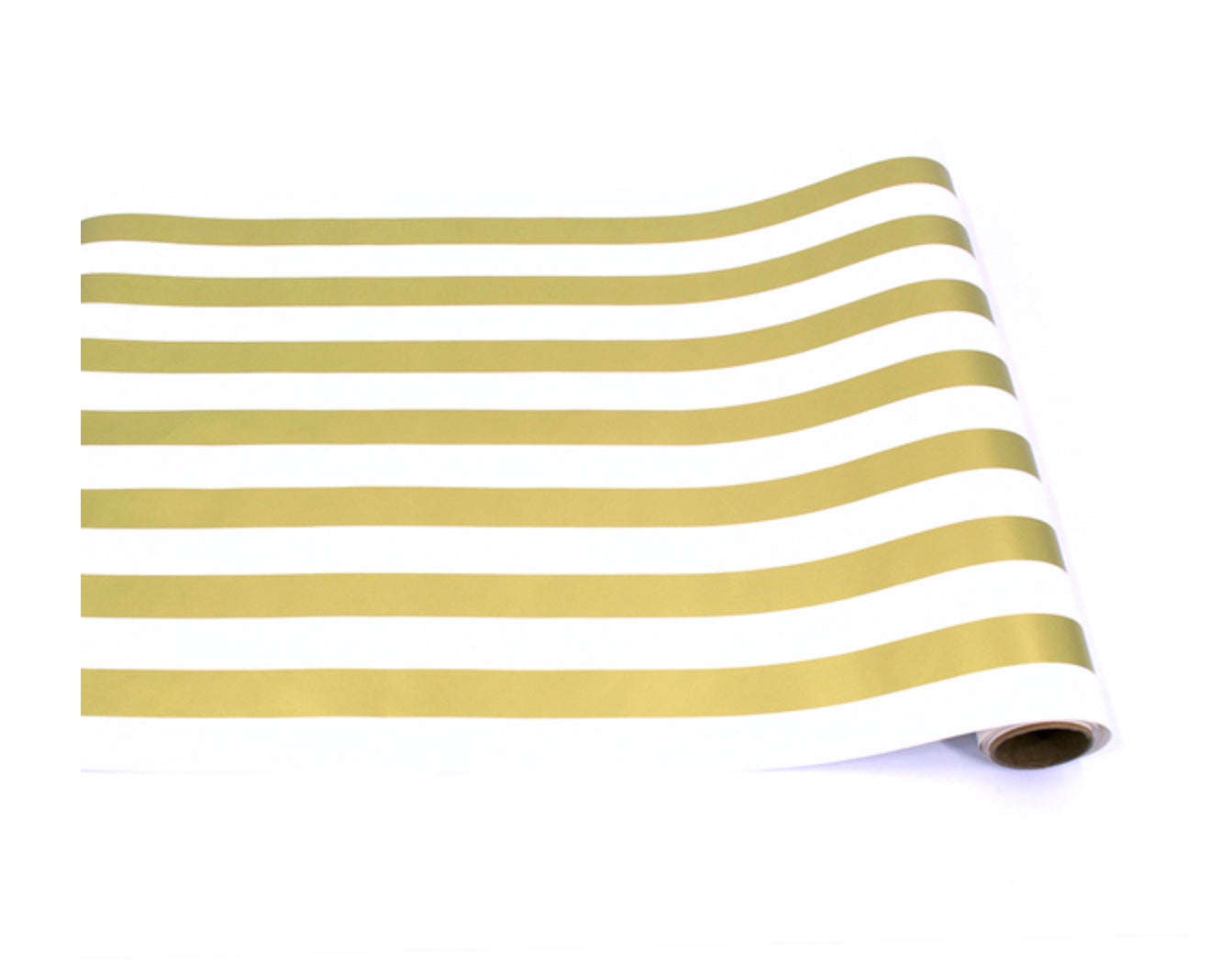 Gold Classic Stripe Table Runner