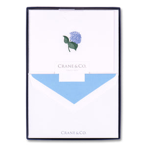 engraved Hydrangea Notes