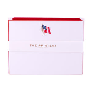 American Flag Boxed Note Cards