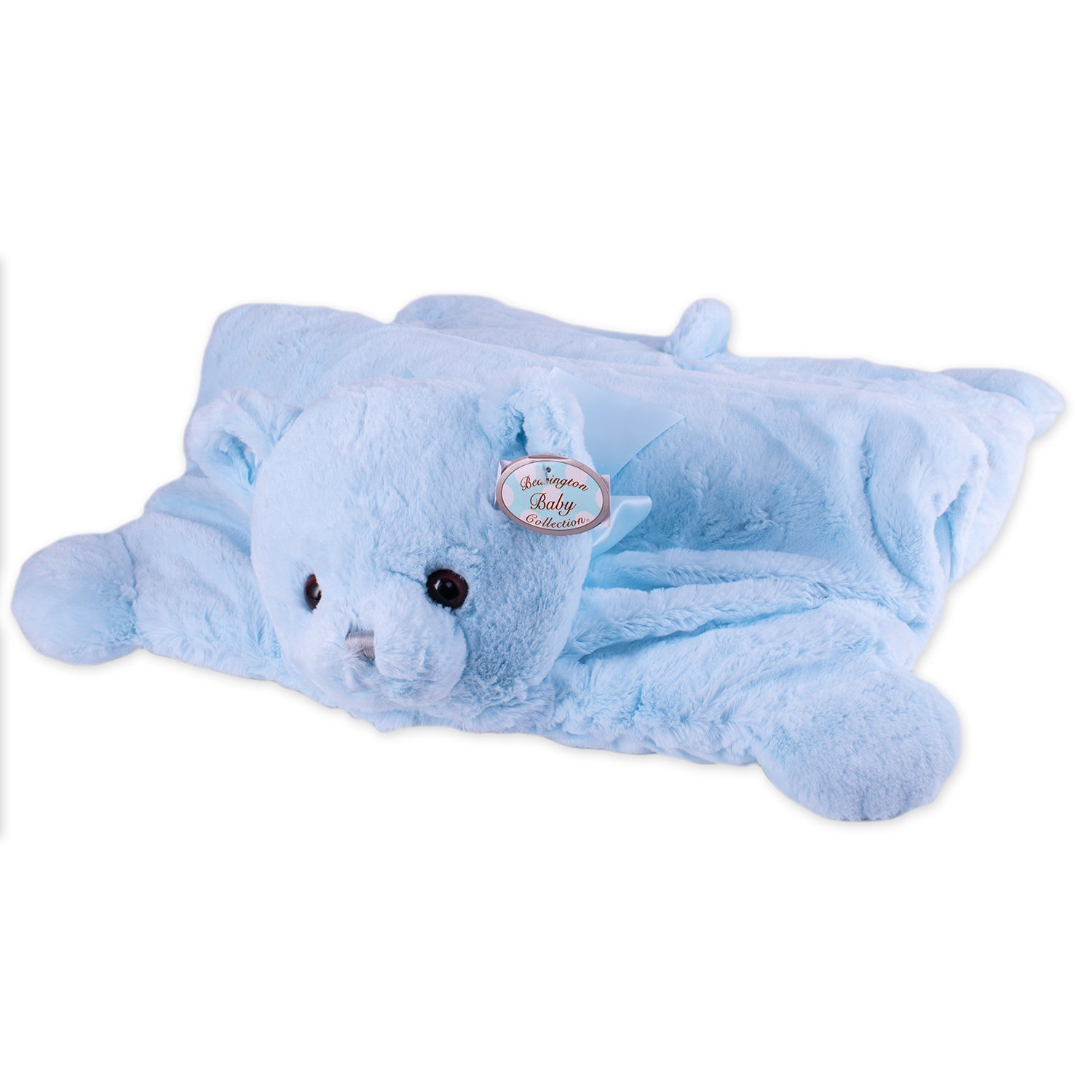 Blue Huggy Bear Belly Blanket