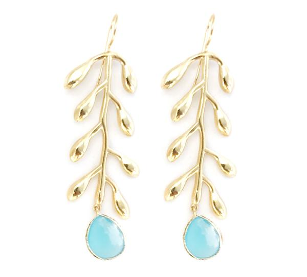 Durden Aquamarine Earrings