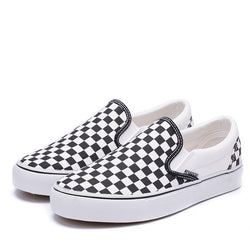 buy good wide selection 100% quality quarantee Canvas Vans Checkerboard Loafers