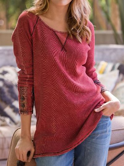 Casual Long Sleeve Shirts Blouses