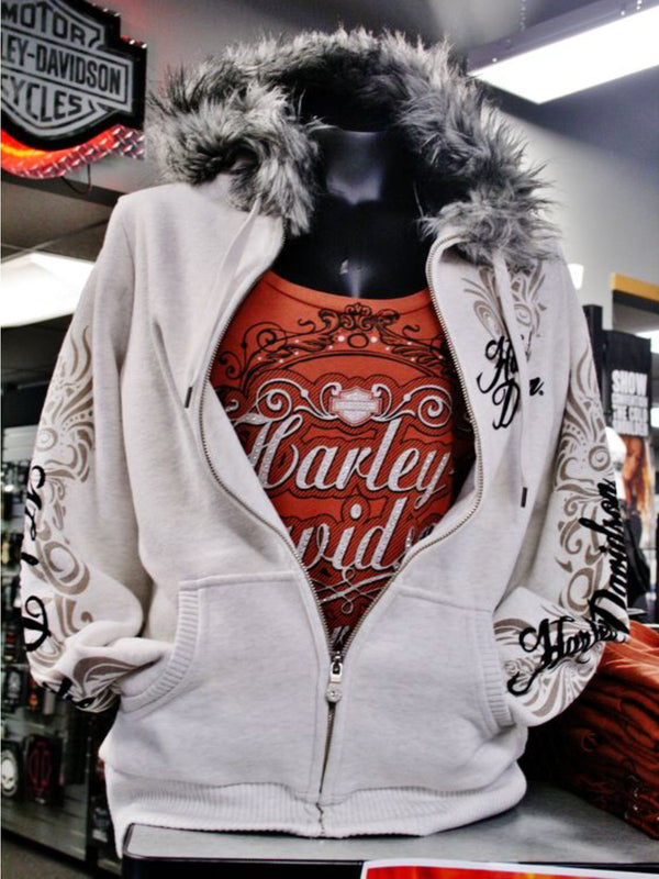 Casual Long Sleeve Plus Size Hoodie Outwear