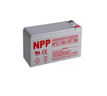 12V 7.5 AH Rechargeable Battery CSB GP 1272