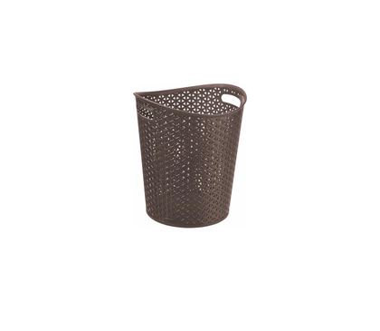 Basket paper CURVER My Style 218666 (13 l; dark brown color)