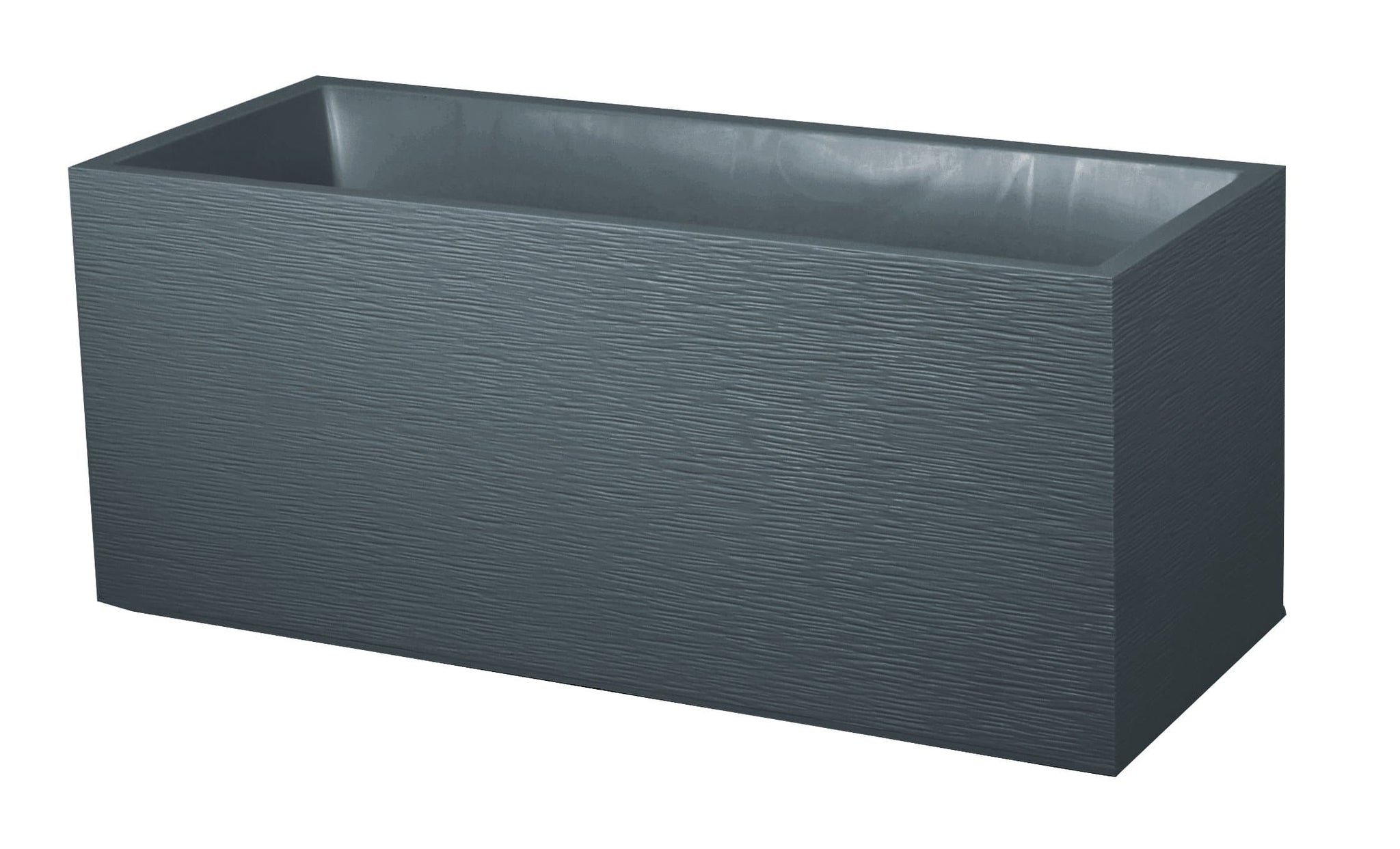 Grey Double Wall Planter 98L