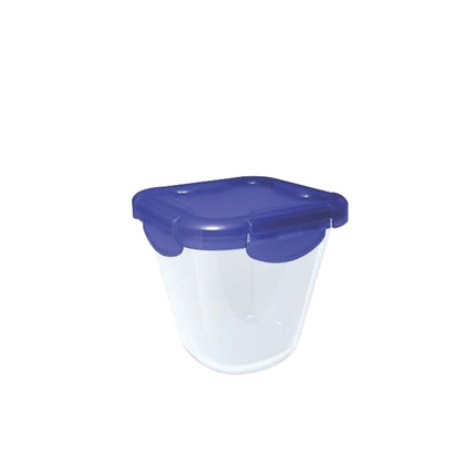 Cook & Go Glass Rectangular Food Container With Lid. 0.8 L