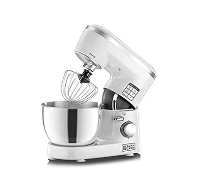 1000W 6 Speed Stand Mixer with Stainless Steel Bowl || عجانة 1000واط