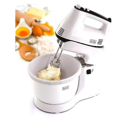 Black & Decker - Bowl And Stand Mixer 300w