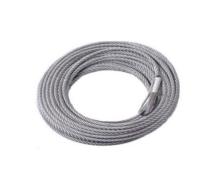 1m*6mm Steel Wire Rope Galvanized p/m - Mega Hardware