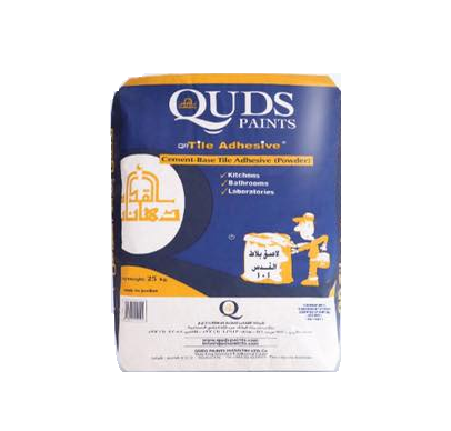 QUDS CEMENT-BASE TILE ADHESIVE 101 25Kg