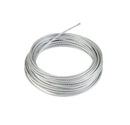 1m*2mm  Steel Wire Rope Galvanized p/m || سلك مغلفن - Mega Hardware