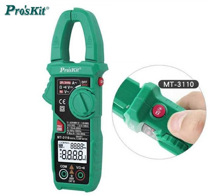 2018 Pro'skit MT-3110 intelligent clamp meter dual screen digital display multimeter ammeter automatic range backlight
