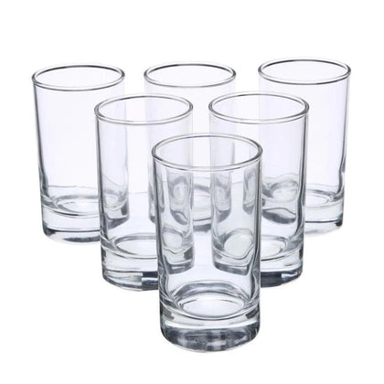 6-Pieces Islande Glass Clear 160 ml