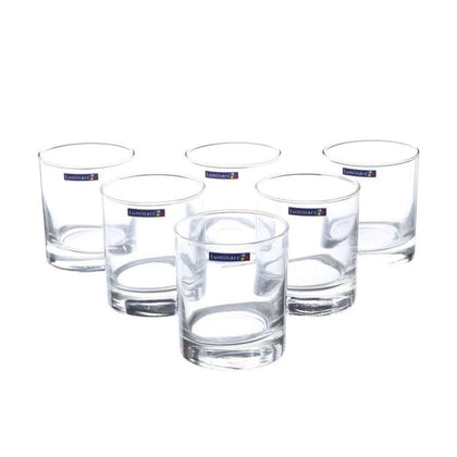 6-Pieces Islande Glass Clear 300 ml
