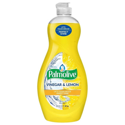 Palmolive Ultra Dishwashing Liquid, Vinegar and Lemon