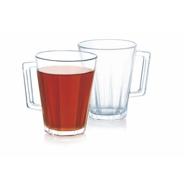 6-Pieces Lacene Glass Cup 250 ml
