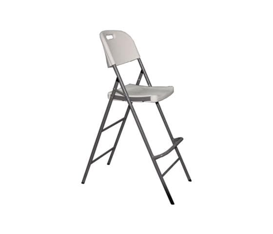 Extendable Plastic Folding Bar Chair
