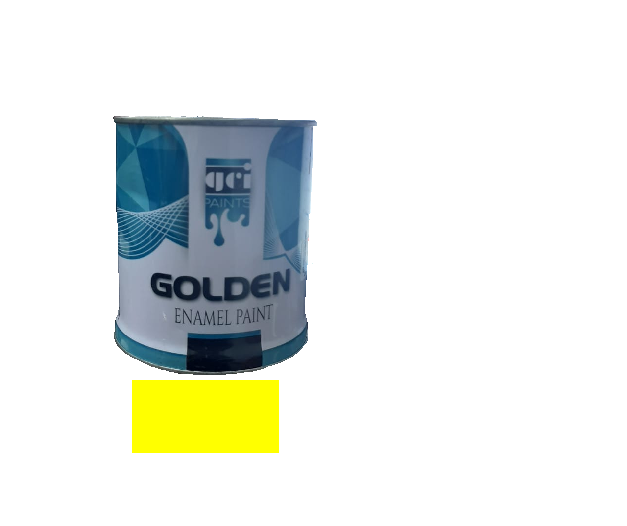 GOLDEN ENAMEL PAINT 543 L.YELLOW 0.9L