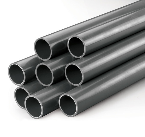 "1m , Nominal Size: 3"" 1.8mm Normal Tube Black PVC Plastic Pipe"