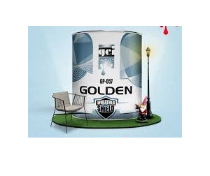 GOLDEN ENAMEL PAINT VARNISH CLEAR  3.6 L