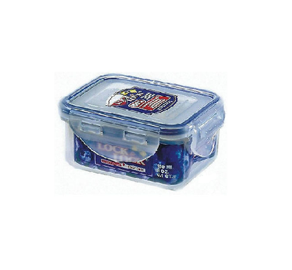 Lock & Lock Plastic Stackable Airtight Container Rectangular 180ml - HPL805