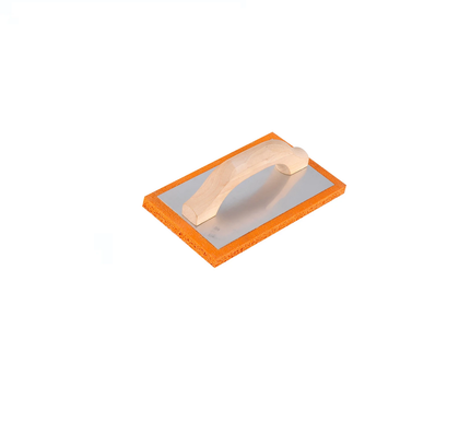 plastic  Handle Plaster Render Tools Orange Plasterers Rubber Foam Sponge Float Trowel