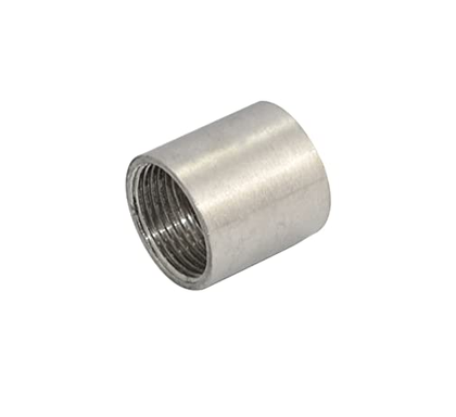 1 in. Stainless Steel Pipe Fitting Full Coupling