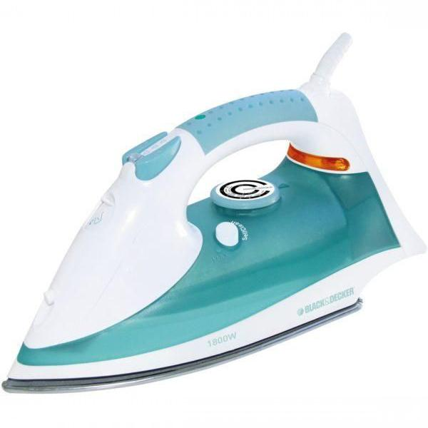 Black & Decker - Steam Iron 1800W